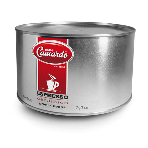 Hạt cafe Espresso Caraibico Hi tech 1kg (can)